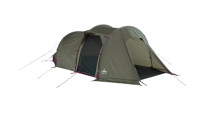 Nomad Tellem 3 tent groen